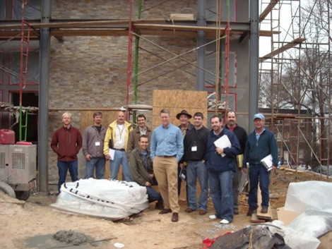 HERS rater class Midtown Green house 201101