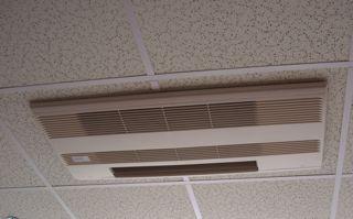 ductless heat pump ceiling cassette head hvac