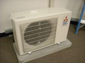 ductless heat pump condensing unit mr slim hvac
