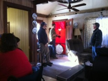 hartford fuel oil story dixieville maine blower door test energy circle