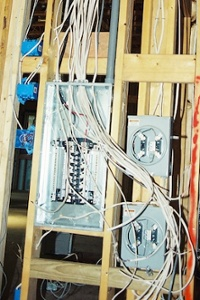 high performance home David Butler electrical chaos