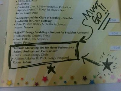 RESNET conference 2012 internet marketing 101 program notes stephen davis