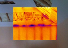 spray foam insulation building envelope new big hole 4 infrared image Jamie Kaye