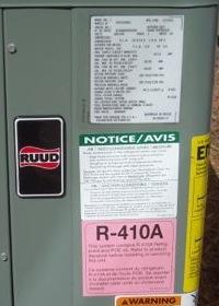 hvac air conditioner heat pump refrigerant dry ship r 410a