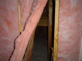 haunted house as a system halloween building envelope fiberglass batt insulation no air barrier