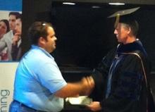 HERS rater class graduation ceremony allison bailes energy vanguard