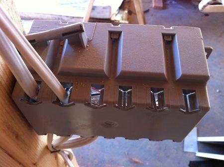 air leakage electrical junction box holes blower door