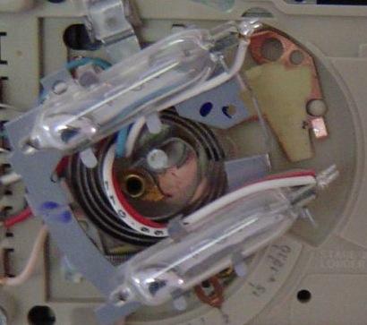 hvac thermostat mercury environment recycle closeup