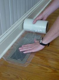 duct mask leakage test adhesive waste