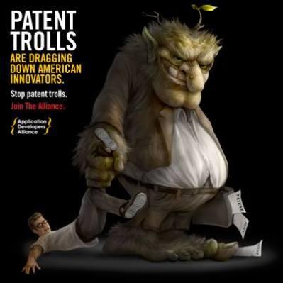 patent trolls dragging down innovators