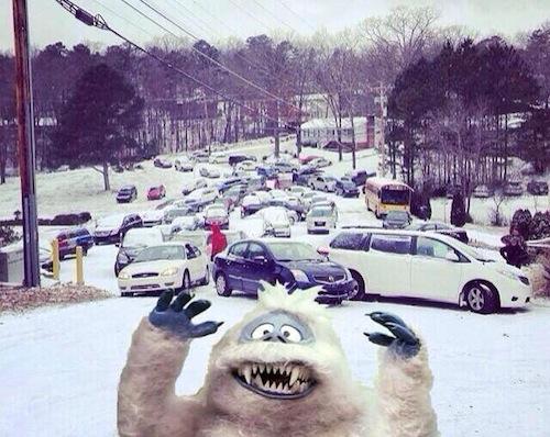 abominable snowman atlanta snow storm nightmare 2014
