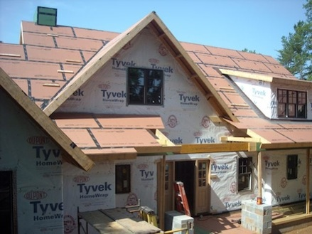 house wrap as the water control layer