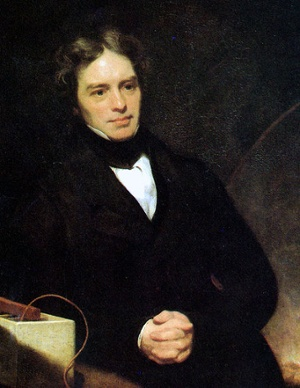 Michael Faraday law electromagnetic induction cooktop 1842