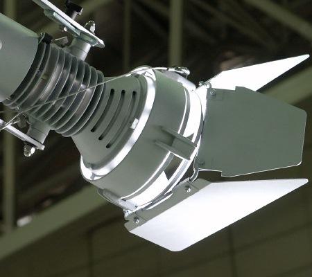 cooling fins light fixture aqua tower