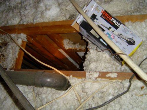 building enclosure attic chase air leakage ice dam