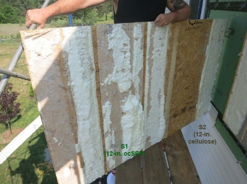 double wall cold sheathing moisture content BSC 6