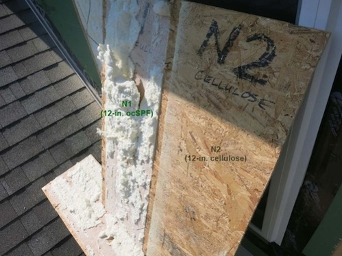 double wall cold sheathing moisture content BSC 7