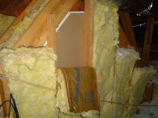 Attic kneewall done the typical-and wrong-way