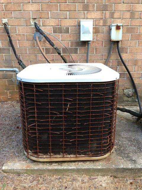 Air Conditioner Size Outdoor Unit Model Number Tons