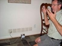 hvac static pressure measurement at return vent Ken Briggs