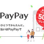 遅ればせながら「PayPay祭り」に参加してみた