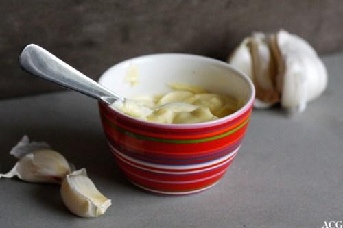 aioli - majones med hvitløk