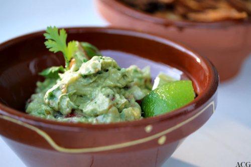 skål med guacamole