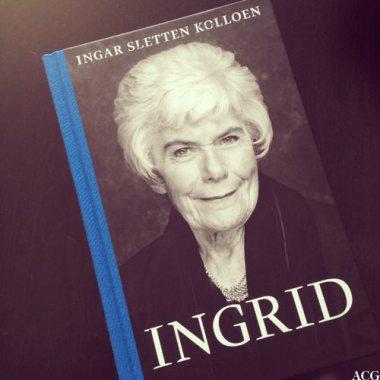 bokomslaget til biografien Ingrid