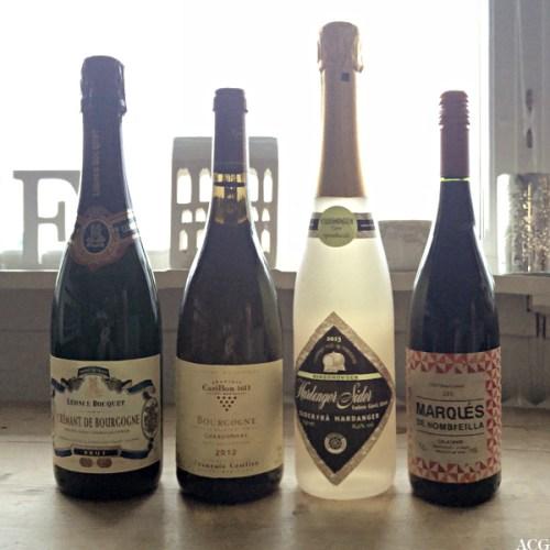 4 flasker vin til osso buco