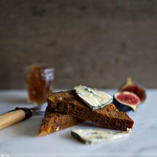ingefærkake med ost