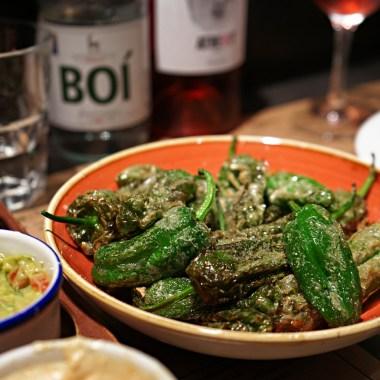 Stekte grønne paprika - pimietos de padrón