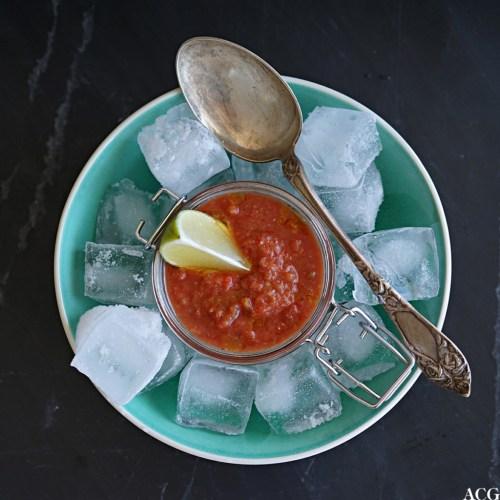 gazpacho på is