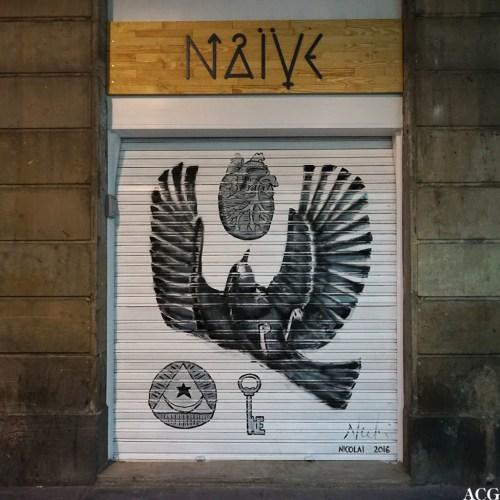 Gatekunst i Barcelona