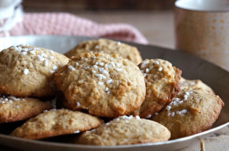 mandelcookies med appelsinsmak