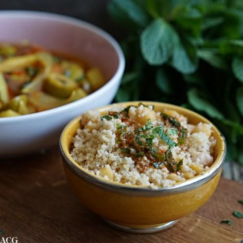 spicy couscous til vegetargryte
