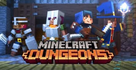 minecraft dungeons 2019