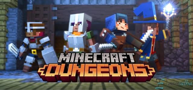 Minecraft: Dungeons Geliyor