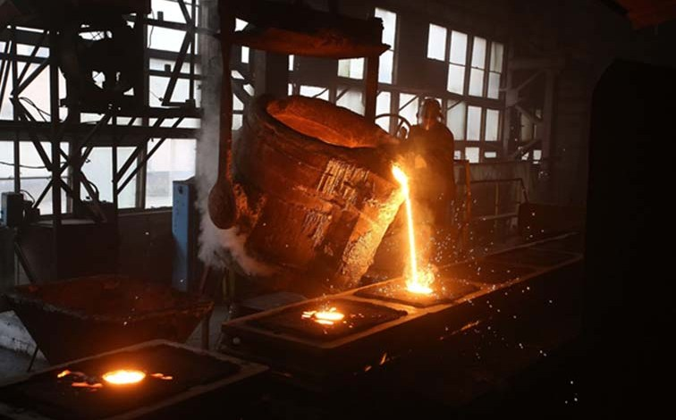Molten iron's properties determined by its cooling period