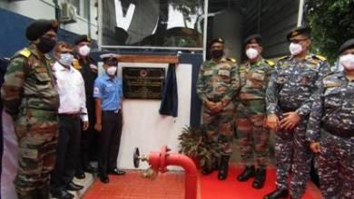 Oxygen generation facility inaugurated at INHS Dhanvantari Port Blair