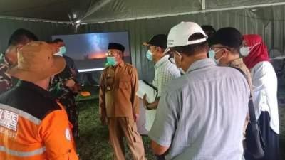 Gubernur Sulbar Lakukan Persiapan Penyambutan Presiden di Lokasi Bencana Alam