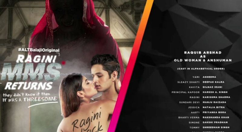 Raquib arshad Ragini mms returns manu ka surrender bollywood