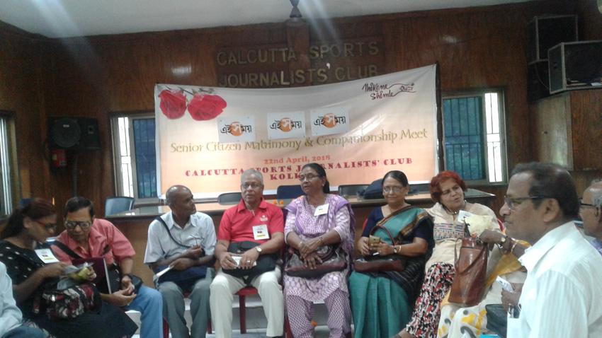 senior citizen marriage matrimony date kolkata