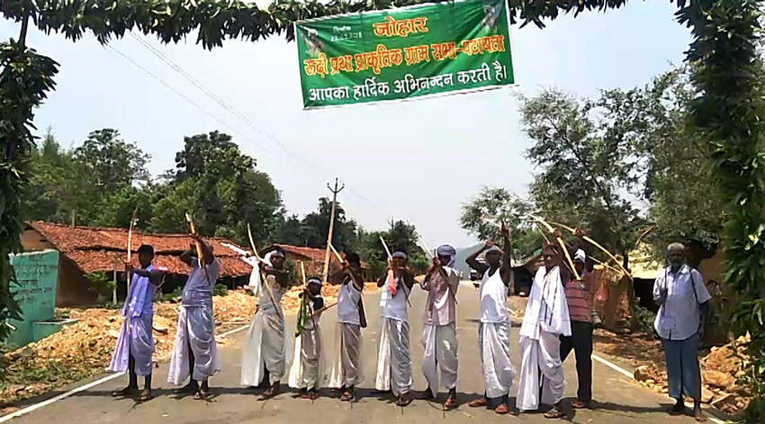 Pathalgadi tribal Jharkhand Chattisgarh PESA Scheduled Area