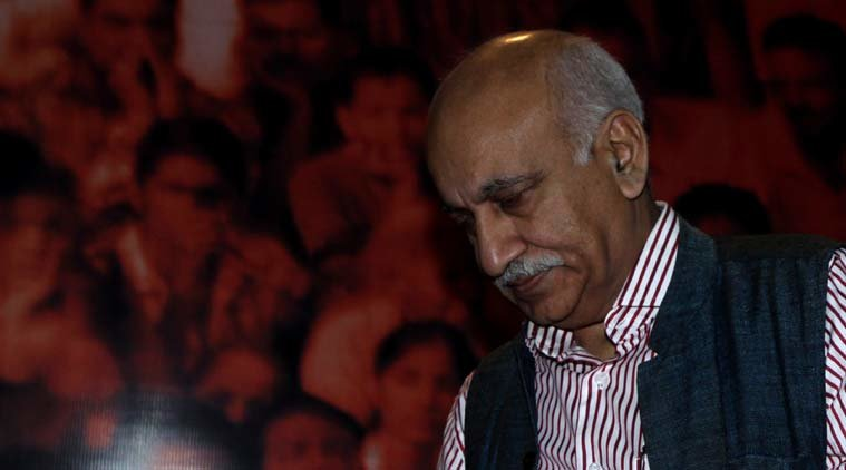 mj akbar defamation journalist sexual harassment #MeTooIndia