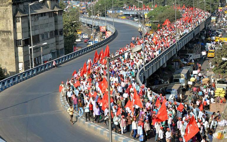 Farmer Kisan Singur Kisan March Farmers Bengal Delhi