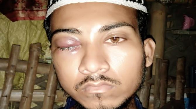 Jai Sri Ram shahrukh haldar Madarsa Skull cap beard