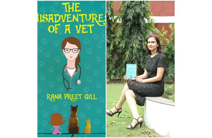 veterinarian rana preet gill writer author veterinary The Misadventure Of A Vet dog doctor
