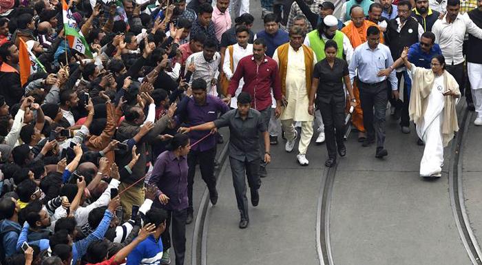caa and nrc protests Students West Bengal Mamata Banerjee Citizenship
