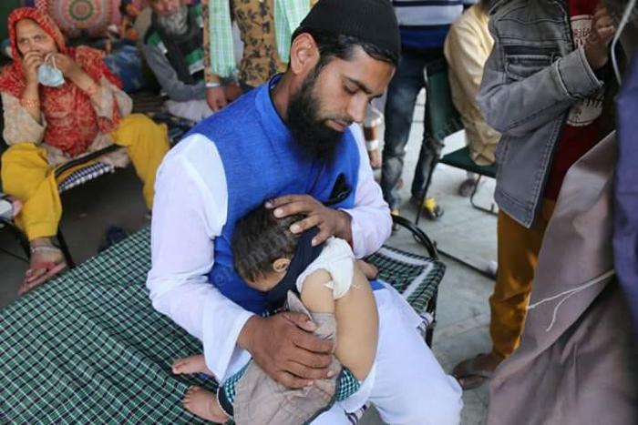 delhi riots coronavirus hindu muslim hate virus