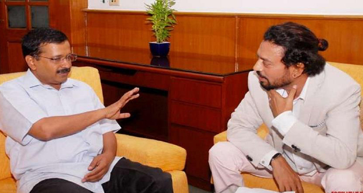 irrfan khan politics AAP jaipur lok sabha